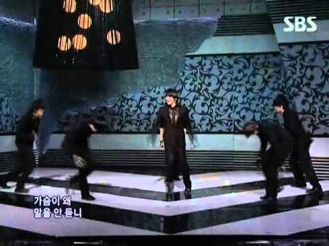 2PM - Heartbeat (투피엠 - 하트비트) @ SBS Inkigayo 인기가요 091206