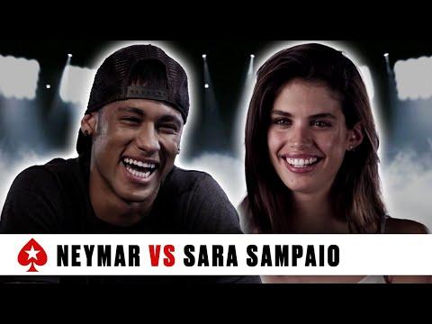 Neymar Jr. VS Sara Sampaio: ''I'm very unpredictable'' ♠️ PokerStars Duel ♠️ PokerStars