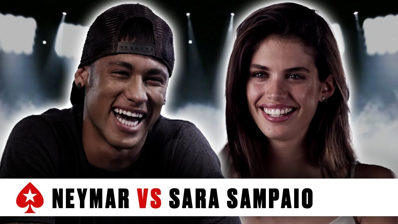 PokerStars Duel: Neymar Jr. Vs. Sara Sampaio #1