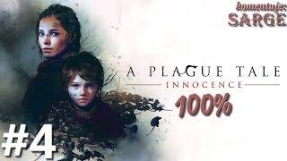Zagrajmy w A Plague Tale: Innocence PL (100%) odc. 4 - Zdążyć przed zmrokiem