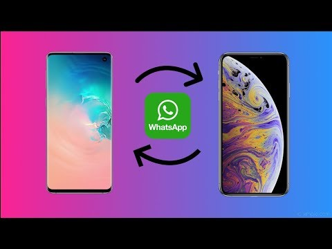 How To Transfer Whatsapp Messages and Files Between Android and iPhone!