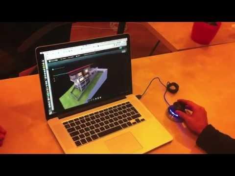SpaceNavigator + Sketchfab demo
