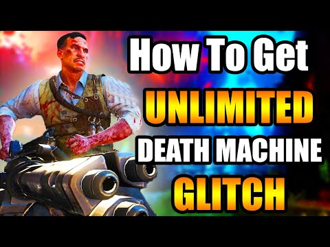 BLACK OPS 3 *EASY* UNLIMITED DEATH MACHINE GLITCH WORKING ON ALL MAPS!