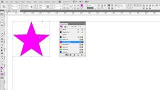 Adobe InDesign CS6 - Как закрасить объект