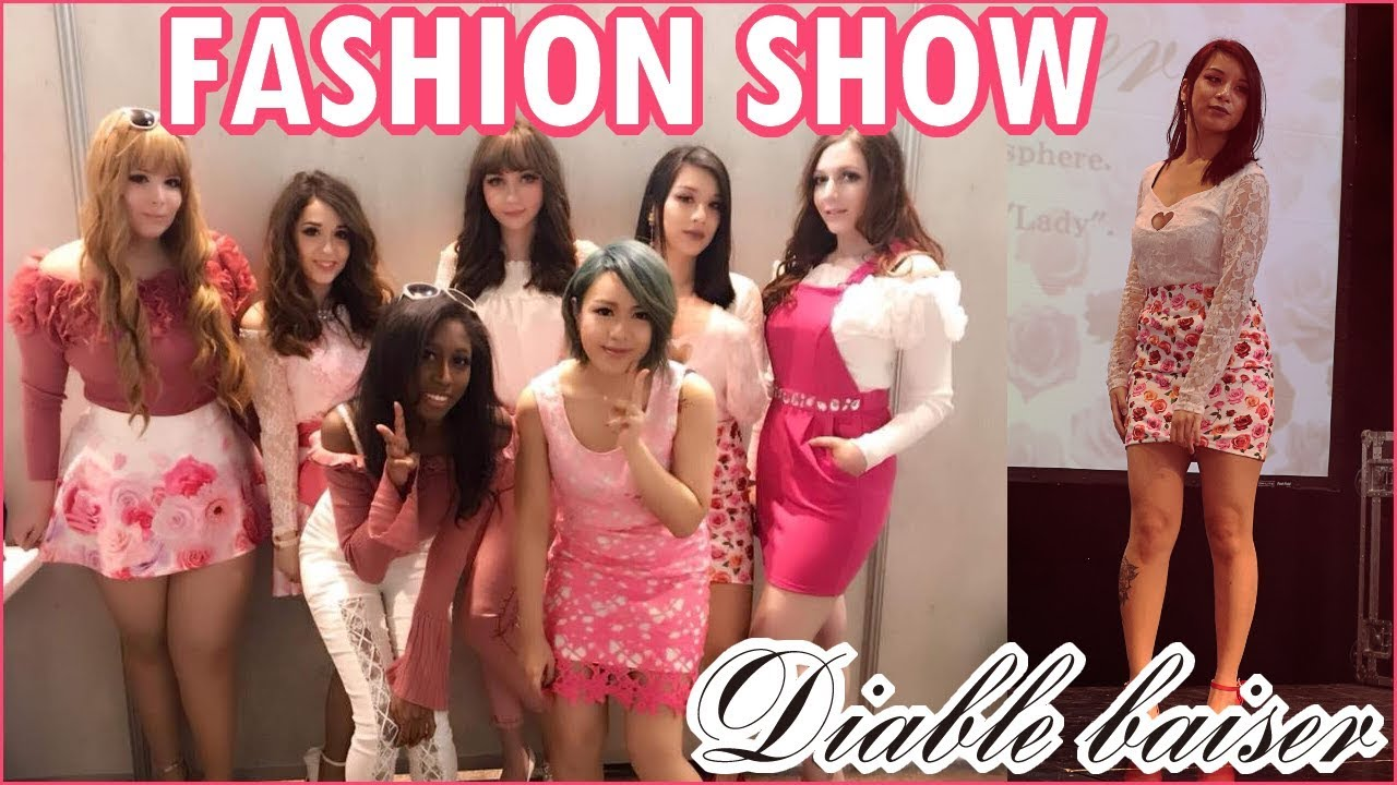 「Fashion Show」Diable Baiser at Japan Touch Haru (08/04/2018) ~Gyaru: Yumetenbo(Sweet Gyaru)/Sexy Gal