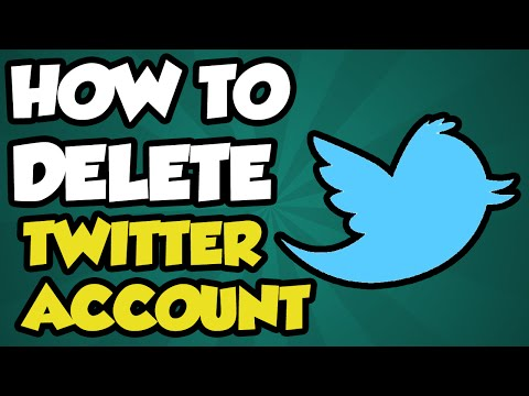 How To Delete Your Twitter Account 2017 - How To PERMANENTLY Delete Twitter 2016