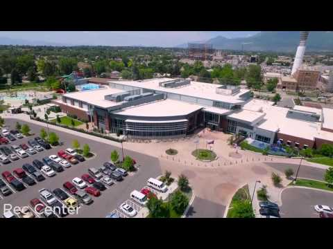 Aerial Tour of Provo Parks, Buildings, and Landscapes