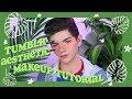 🌿 Tumblr aesthetic 🌹 | makeup tutorial
