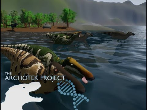 The ArchoTek Project Realism| tough life of Anatosaurus