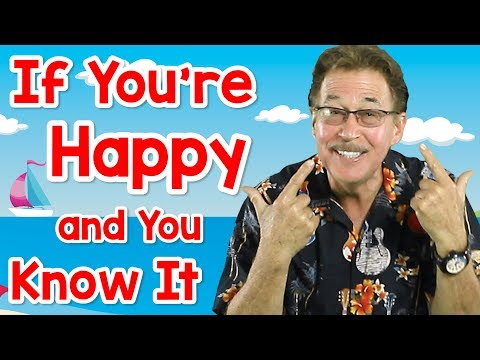 If You're Happy and You Know It | Fun Movement Song for Kids | Jack Hartmann