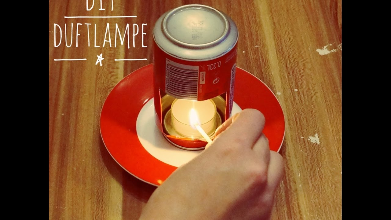 diy idee duftlampe aus dose f r aroma l upcycling aromalampe youtube. Black Bedroom Furniture Sets. Home Design Ideas