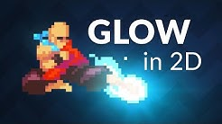 How to make 2D GLOW in Unity!