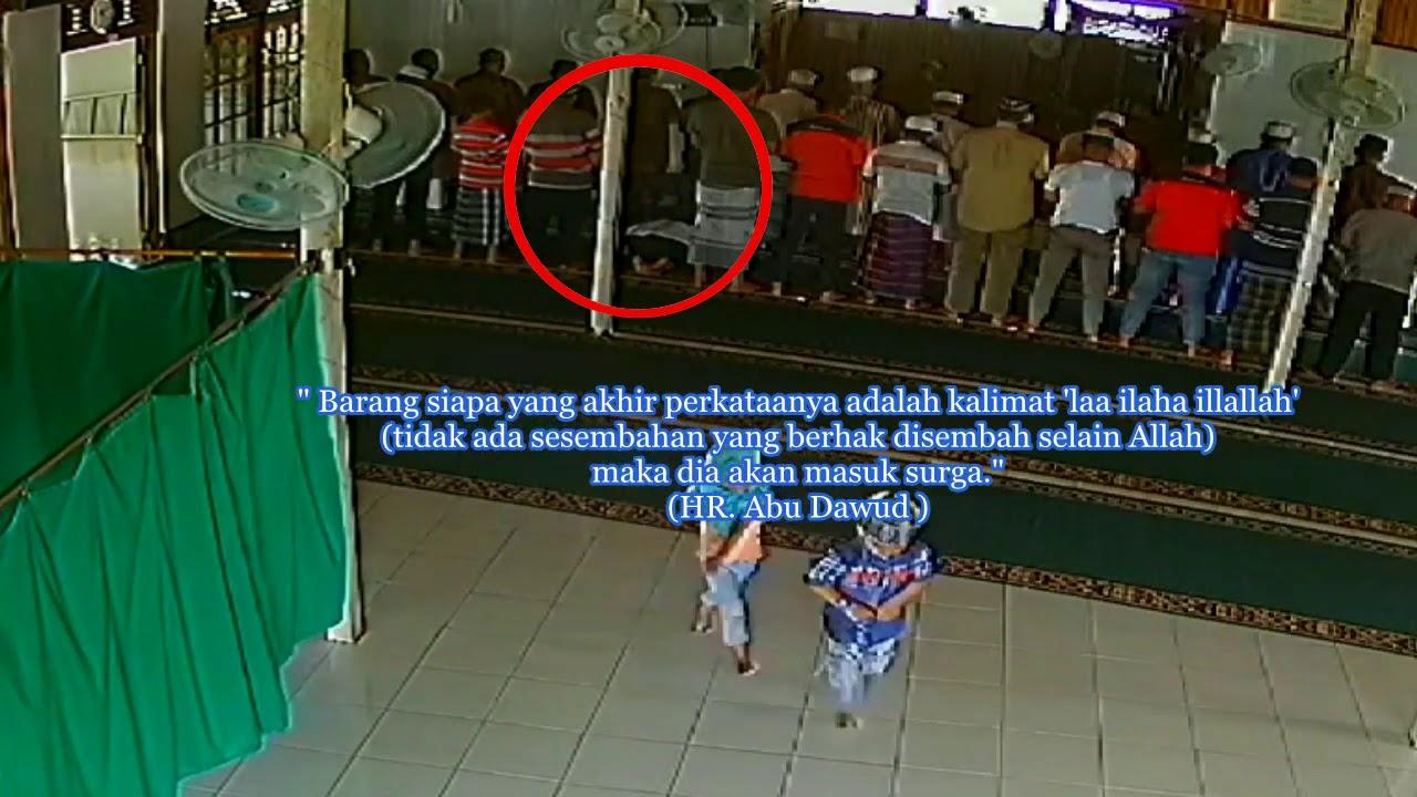 MENINGGAL SAAT SUJUD, Jamaah sholat Djuhur  Masjid Jami'ul Wustho Seluas  Junaidi Ks