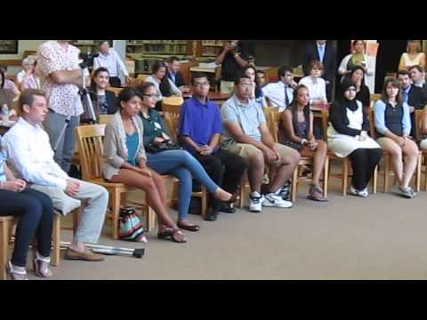 June 20 Salem High School Q+A with Gov. Deval Patrick