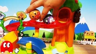 アンパンマン アニメ&おもちゃ コロコロ のぼって楽しい!バイキンマンとカブトムシもいるよ!Toy Kids トイキッズ animation anpanman thumbnail