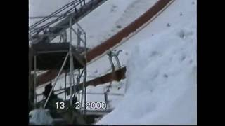 Sven Hannawald 214m Ski Flying World Championships Vikersund 2000