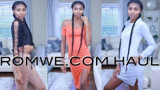 HUGE ROMWE|SheIn TRY ON HAUL + Review 2017