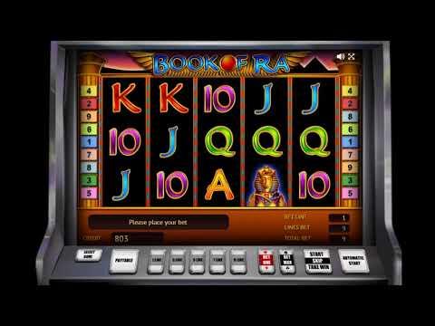 Игровой автомат BOOK OF RA играть бесплатно и без регистрации онлайн