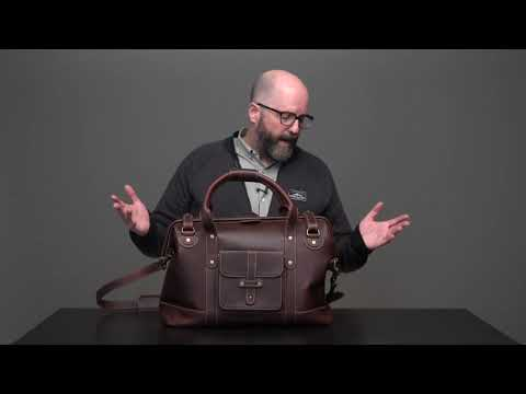 Pad & Quill Gladstone Men's Leather Duffle Bag Review