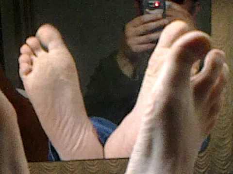 Male sock fetish sniff