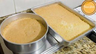 Pão de Ló Úmido – O Mais Fofinho e Delicioso