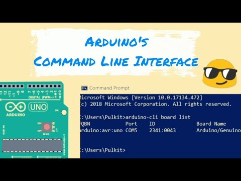 Arduino Command Line Interface (CLI) ||New way (Part 1)||Tutorial