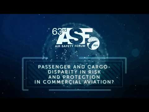 PASSENGER AND CARGO–DISPARITY IN RISK AND PROTECTION IN COMMERCIAL AVIATION?