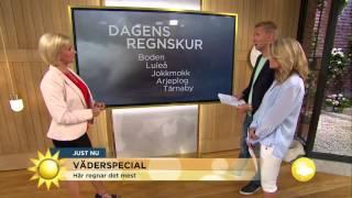 """""""Just nu samma UV-värden som vid Medelhavet"""" - Nyhetsmorgon (TV4)"""
