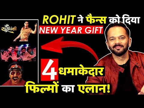 Rohit Shetty Announces His 4 Upcoming Films As A New Year Gift To His Fans!