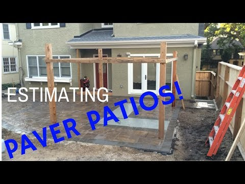 How To Estimate/Job Cost Paver Patios ($7,000 in 3 Days)