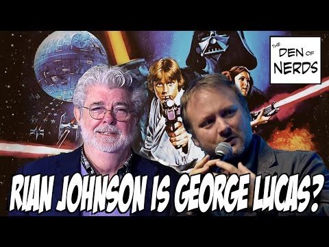 Thumbnail: Rian Johnson Is The New George Lucas? Direction of Saga Films From Now On? The Last Jedi and Beyond!