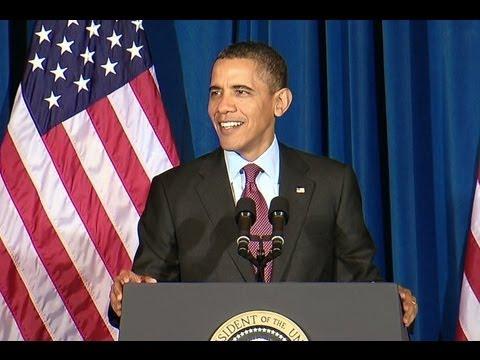 President Obama Speaks at Conference on Conservation