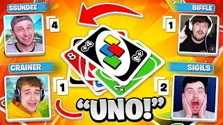 Just 4 FRIENDS Playing UNO!