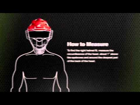 Champro Size Guide Hockey Style Catcher's Helmet