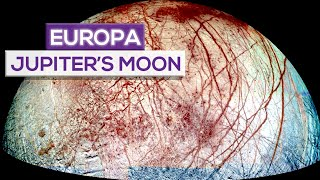 "Europa: Jupiter's ""Veiny Eyeball"" Moon!"