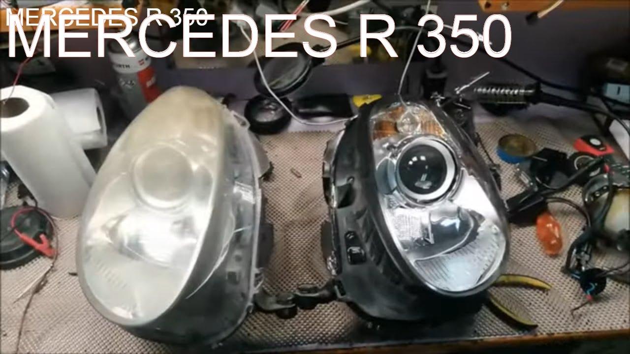 MERCEDES R 350 FAR YENİLEME // HEADLIGHT. RENOVATION