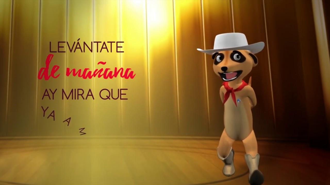 Las Mañanitas (Cumbia) Amanda 🎈🎉 - [VideoLyric]
