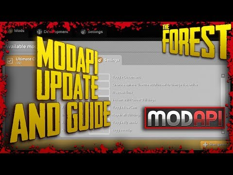 ModAPI Update and Guide