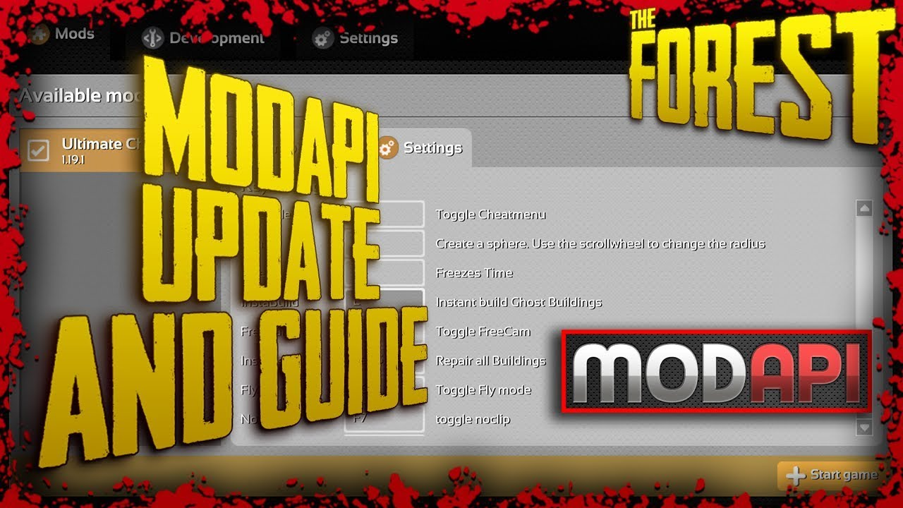 modapi update and guide 24 08 2017 the forest youtubemodapi update and guide 24 08 2017 the forest