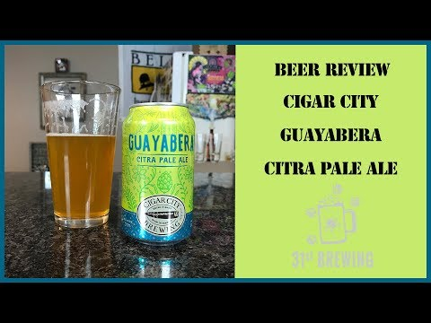 super popular 20280 e5b06 Cigar City Brewing Guayabera Citra Pale Ale Craft Beer Re.
