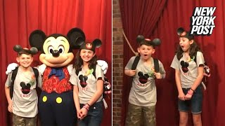 Mickey Mouse surprises these foster kids with big news | New York Post