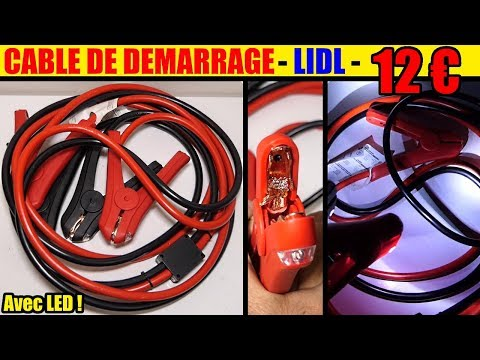 cable de demarrage lidl ultimate speed essence diesel jump leads starthilfekabel arranque se