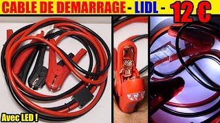 cable de demarrage lidl ultimate speed essence diesel jump leads starthilfekabel arranque se