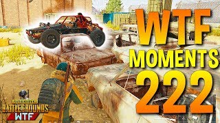 PUBG Daily Funny WTF Moments Highlights Ep 222 (playerunknown's battlegrounds Plays)