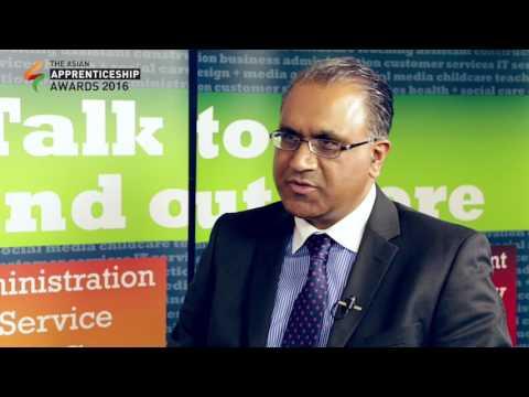 Nazir Afzal in conversation with Safaraz Ali Founder of Asian Apprenticeship Awards