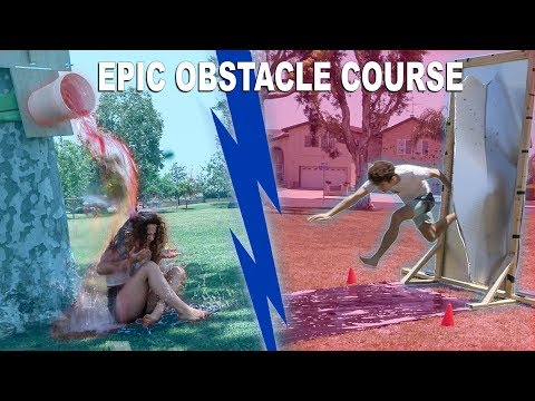 INSANE OBSTACLE COURSE  CHALLENGE