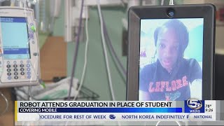 Hospitalized LeFlore High School student explains how she \'walked\' across the stage at graduation