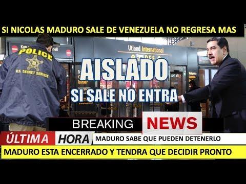 Maduro sale de Venezuela no regresa