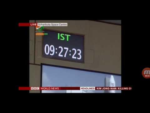BBC News: India ISRO successfully launches record 104 satellites.