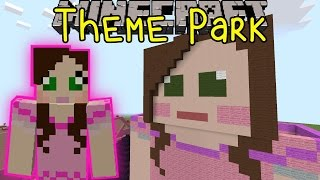 Minecraft: SUPERGIRLYGAMER AMUSEMENT PARK (Custom Map) Part 1